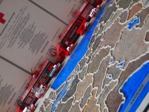 Turkey´s map at the AKUT entrance