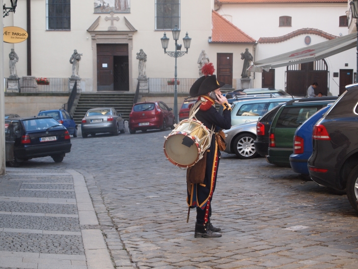 Last soldier in the Brno city